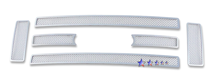 Ford Super Duty  2008-2010 Chrome Main Upper Mesh Grille