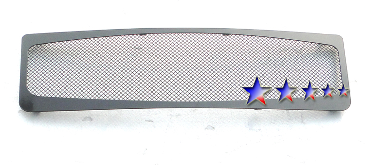 Ford Expedition  2007-2012 Black Powder Coated Main Upper Black Wire Mesh Grille