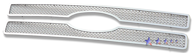 Ford F150 97-98 Chrome Stainless Steel Main Front Grill