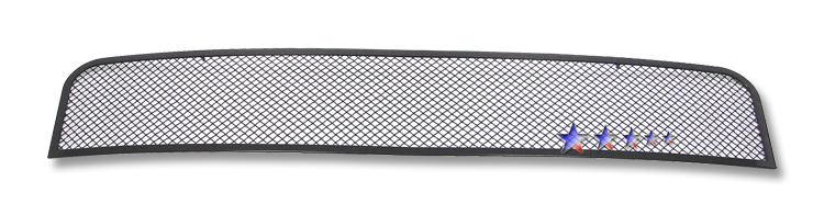 Ford Mustang  2005-2009 Black Powder Coated Main Upper Black Wire Mesh Grille