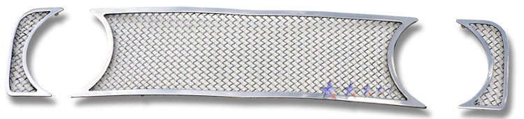 Ford Mustang  2005-2009 Chrome Main Upper Mesh Grille