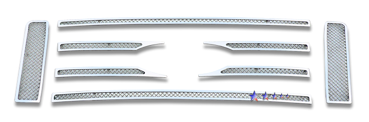 Ford F150  2009-2012 Chrome Main Upper Mesh Grille