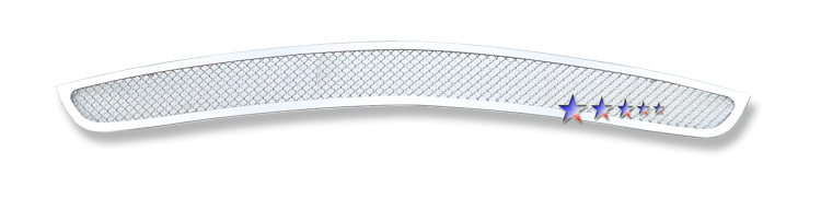 Ford Mustang  2010-2012 Chrome Lower Bumper Mesh Grille