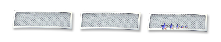 Ford Focus  2008-2011 Chrome Lower Bumper Mesh Grille