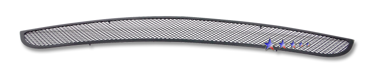 Ford Mustang Shelby Gt 500 2007-2009 Black Powder Coated Lower Bumper Black Wire Mesh Grille