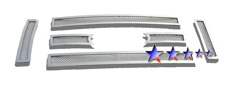 Ford F150 King Ranch 2009-2012 Chrome Main Upper Mesh Grille
