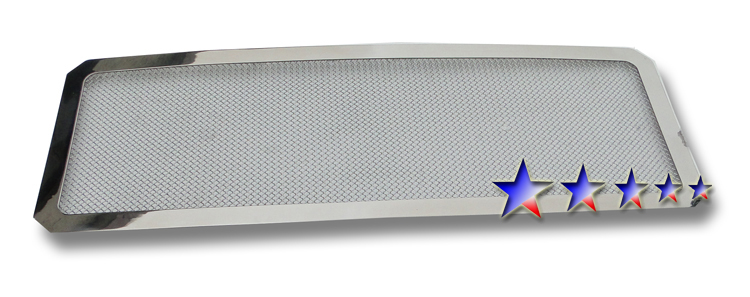 2011-2012 Ford Super Duty F-550 Sd Chrome Mesh Grille - Main Upper