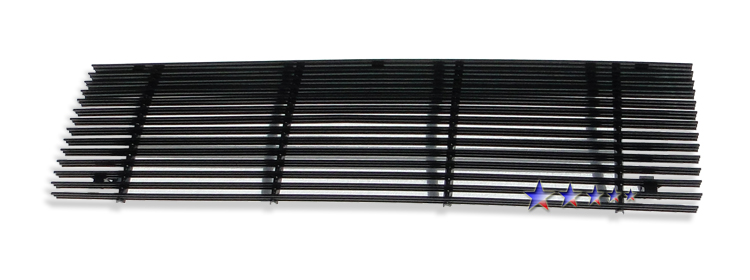 Ford Bronco Ii  1989-1992 Black Powder Coated Main Upper Black Aluminum Billet Grille