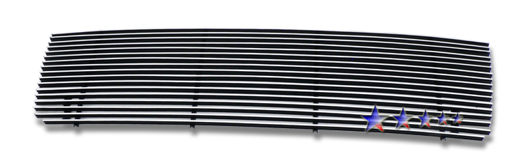 Ford Super Duty  1992-1996 Polished Main Upper Stainless Steel Billet Grille