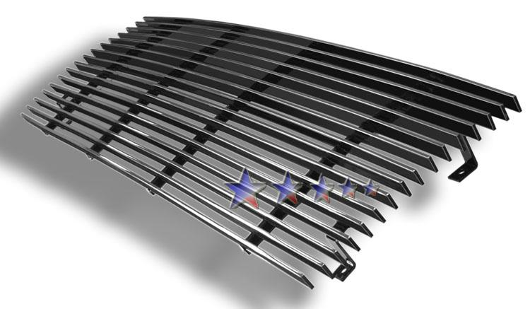 Ford Super Duty  1987-1991 Polished Main Upper Stainless Steel Billet Grille