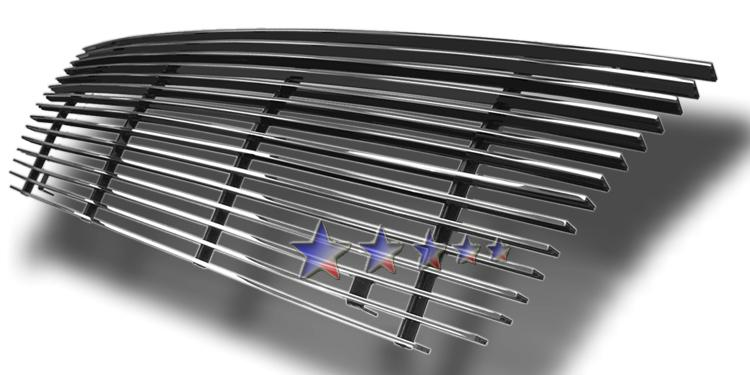 Ford Econoline  1992-2007 Polished Main Upper Aluminum Billet Grille