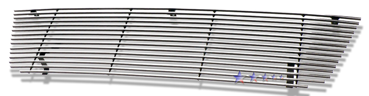 Ford Econoline  1992-2007 Polished Main Upper Stainless Steel Billet Grille