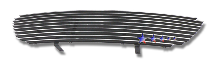 Ford Explorer  1995-2001 Black Powder Coated Main Upper Black Aluminum Billet Grille