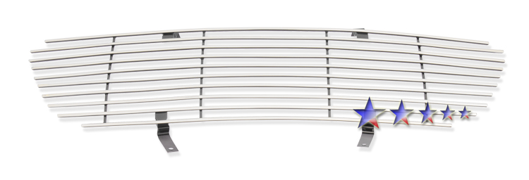 Ford Explorer  1995-2001 Polished Main Upper Stainless Steel Billet Grille