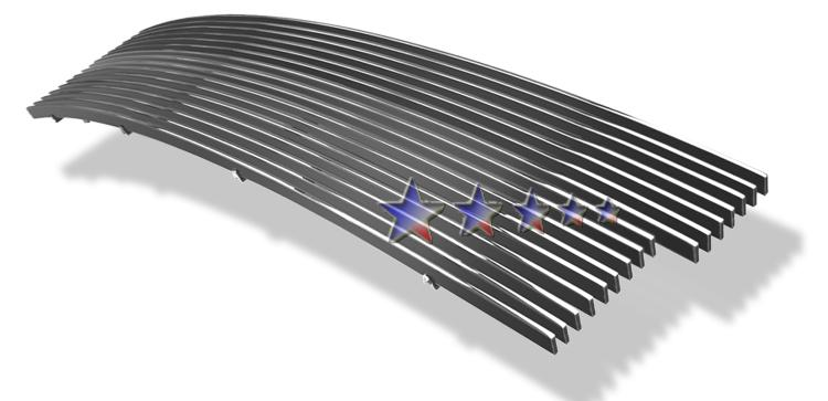 Ford Expedition  1997-1998 Black Powder Coated Main Upper Black Aluminum Billet Grille