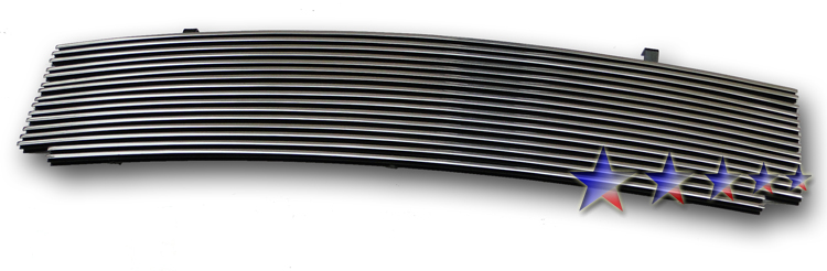 1997-1998 Ford Super Duty F-250 Light Polished Aluminum Billet Grille - Main Upper