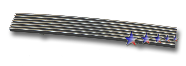 Ford F150 4wd 1997-1998 Polished Lower Bumper Aluminum Billet Grille