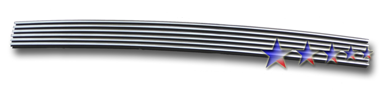 Ford F150 2wd 1997-1998 Polished Lower Bumper Aluminum Billet Grille