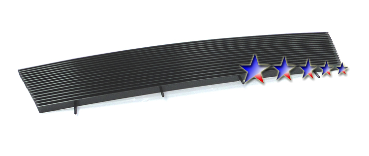 Ford Ranger  1998-2000 Black Powder Coated Main Upper Black Aluminum Billet Grille