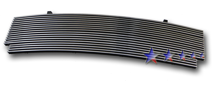 Ford F150 Heritage 2004-2004 Polished Main Upper Aluminum Billet Grille
