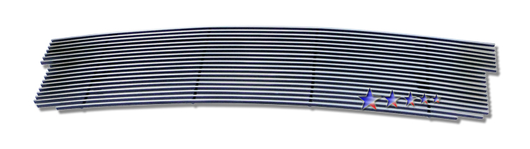 Ford Expedition  1999-2002 Polished Main Upper Stainless Steel Billet Grille