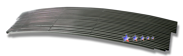 Ford F150 Lightning 1999-2003 Polished Main Upper Aluminum Billet Grille