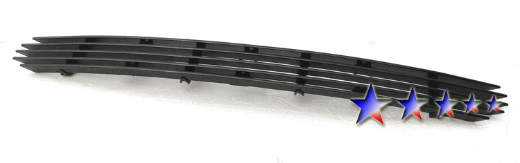 Ford Expedition  4wd 1999-2002 Black Powder Coated Lower Bumper Black Aluminum Billet Grille