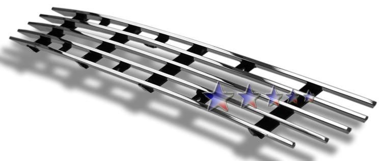 Ford F150 4wd 1999-2003 Polished Lower Bumper Stainless Steel Billet Grille