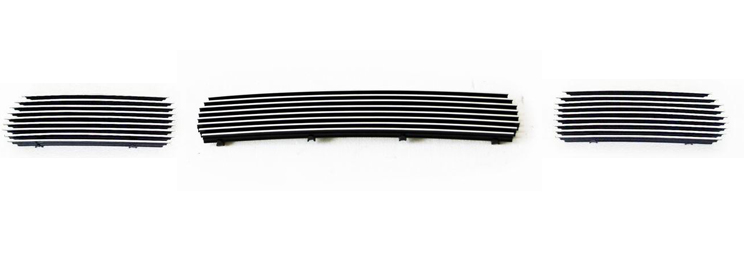 Ford Excursion  2000-2004 Polished Lower Bumper Aluminum Billet Grille