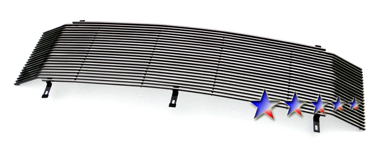 Ford Super Duty  1999-2004 Polished Main Upper Stainless Steel Billet Grille