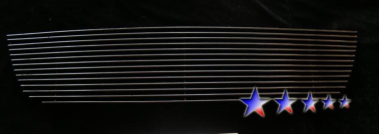 Ford Escape  2005-2007 Black Powder Coated Main Upper Black Aluminum Billet Grille
