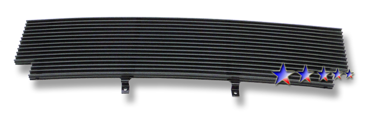 Ford Ranger Xlt 2wd 2001-2003 Black Powder Coated Main Upper Black Aluminum Billet Grille
