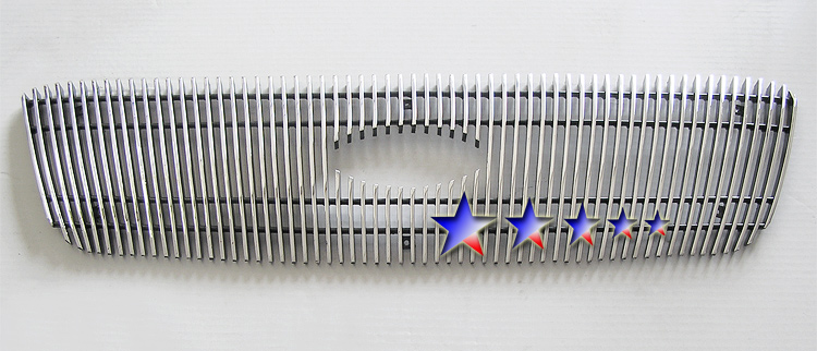 Ford Ranger Xlt 2wd 2001-2003 Polished Main Upper Aluminum Billet Grille