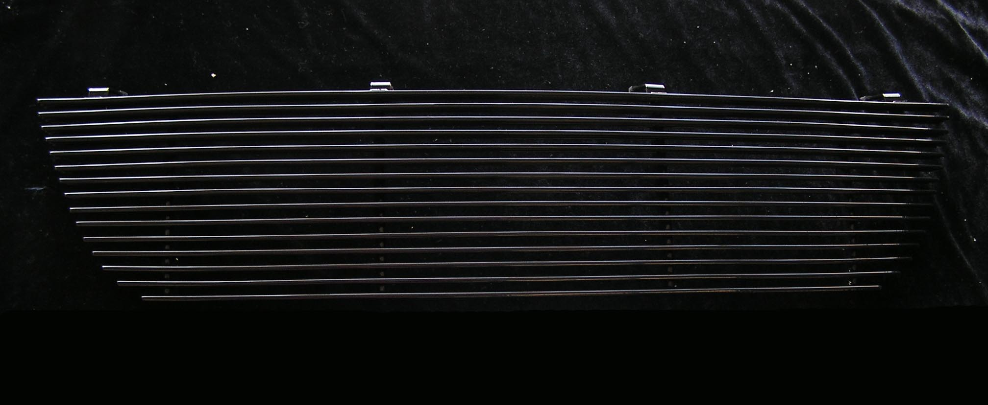 Ford Explorer  2002-2005 Black Powder Coated Main Upper Black Aluminum Billet Grille