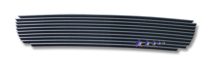 Ford Explorer  2002-2005 Black Powder Coated Lower Bumper Black Aluminum Billet Grille