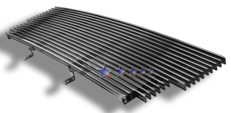 Ford Ranger  2006-2012 Polished Main Upper Aluminum Billet Grille