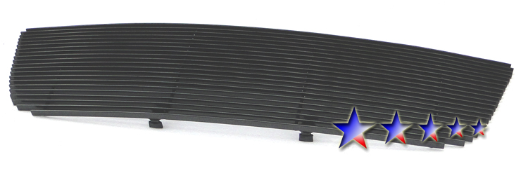 Ford Ranger  2006-2012 Black Powder Coated Main Upper Black Aluminum Billet Grille