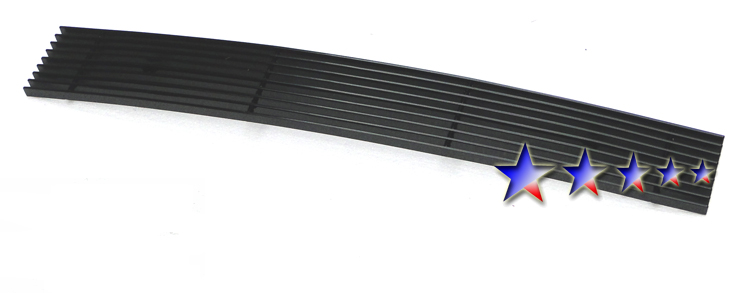 Ford Ranger  2006-2012 Black Powder Coated Lower Bumper Black Aluminum Billet Grille