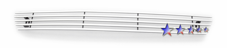 Ford F150  2004-2005 Polished Lower Bumper Stainless Steel Billet Grille