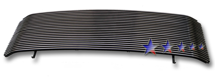 Ford Excursion  2005-2007 Polished Main Upper Aluminum Billet Grille