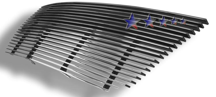 Ford Expedition  2003-2006 Polished Main Upper Aluminum Billet Grille