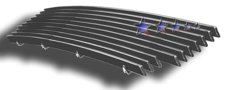 Ford Expedition  2003-2006 Black Powder Coated Lower Bumper Black Aluminum Billet Grille