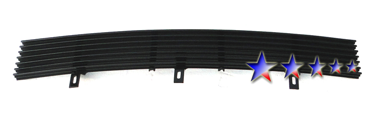 Ford F150 Harley Davidson Special Edition 2001-2003 Black Powder Coated Lower Bumper Black Aluminum Billet Grille