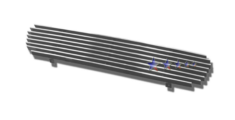 Ford Explorer  1999-2001 Polished Lower Bumper Aluminum Billet Grille