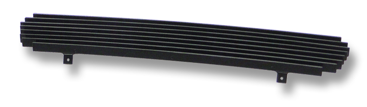 Ford Explorer  1999-2001 Black Powder Coated Lower Bumper Black Aluminum Billet Grille