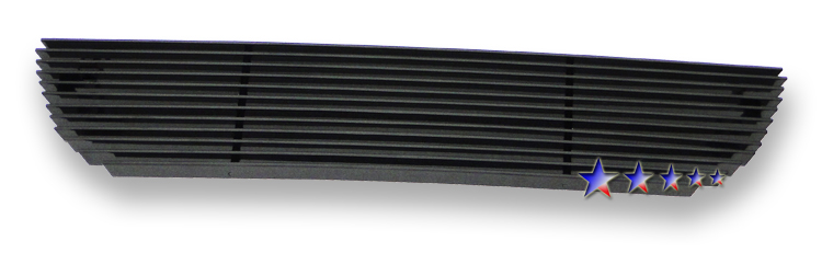 Ford Ranger  2001-2003 Black Powder Coated Lower Bumper Black Aluminum Billet Grille