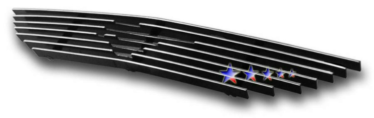 Ford Mustang  1994-1998 Polished Main Upper Aluminum Billet Grille