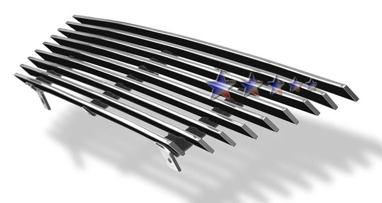 Ford Mustang  1999-2004 Polished Main Upper Aluminum Billet Grille