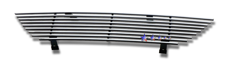 Ford Mustang  1999-2004 Polished Main Upper Stainless Steel Billet Grille