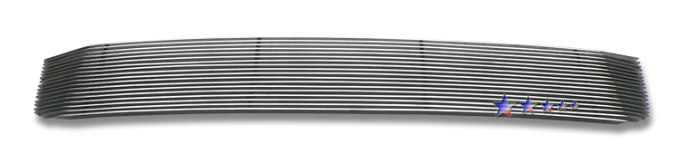 Ford Fusion  2006-2009 Polished Main Upper Aluminum Billet Grille